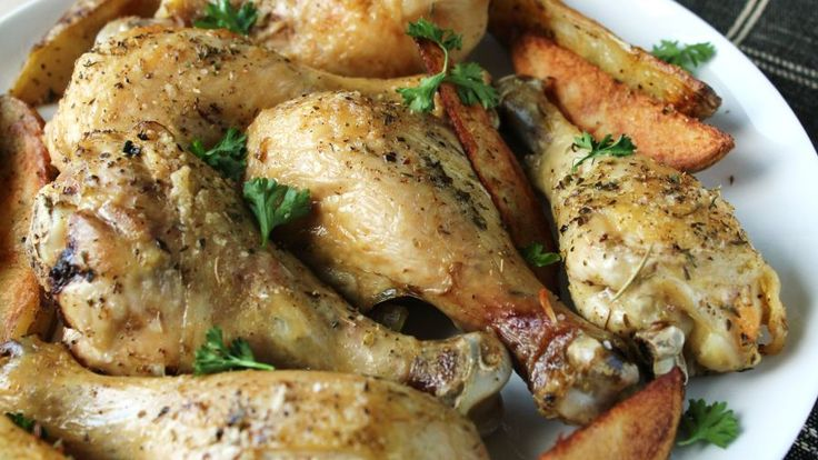 I wanted a basic way to cook drumsticks since they are cheaper than the breasts. I didnt want alot of spice or sauce on it so if you are looking that, this is not the recipe for you. We found it just right for us, the flavor of the chicken really comes through. I served with corn and twice baked potato casserole.