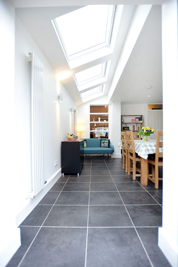 Palmers Green, N13, London, Side Return Extension, Kitchen Extension, Ground Floor Flat Extension, French Doors, Kitchen, Rear Extension, Roof-lights, Pitched Roof, Side Return Ideas, Kitchen Extension Ideas, Dining Area Ideas, Living Area Ideas, Open Plan Living, Living Room Floor