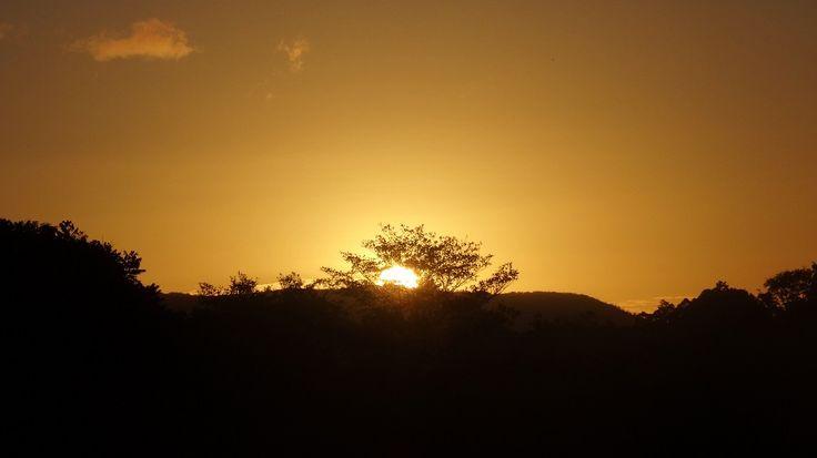 A glorious sunset in Eungella, Queensland. #travel #sunset #holiday #Eungella #Queensland