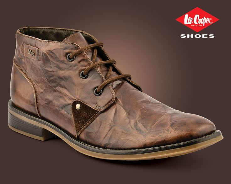 Lee Cooper men's boot. LC1650 Brown #LeeCooper