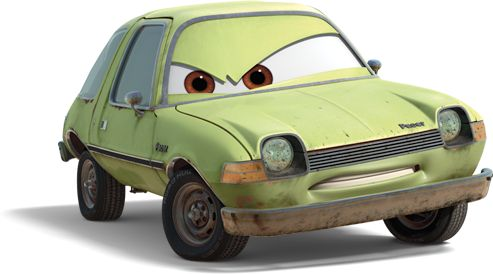 """Acer is one of the tertiary antagonists of Cars 2. Acer has always felt like an outcast in the car world. The beat-up green AMC Pacer joined forces with his fellow """"lemon"""" cars as henchmen for the devious Professor Z, whose clandestine mission is to wreak havoc at the highly visible World Grand Prix. Acer must hunt down the American and British secret agents who have stolen crucial information about Professor Z's underhanded plot. His primary target just happens to be Mater, who has been..."""