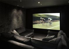 Home movie theater room chairs. Modern home media room, small home media room ideas. Small living room storage ideas. Modern tv entertainment
