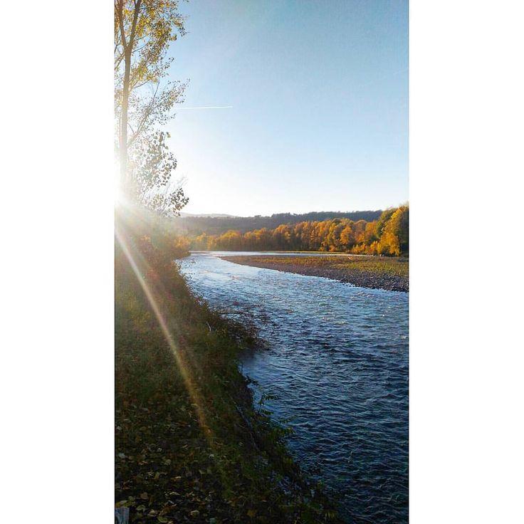 Home. #trebbia #river #valtrebbia #rivergaro #home #picoftheday #landscape #sunny #sunnyday #walking #saturdayafternoon #myplace