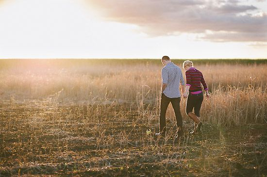 Nerida and Nick's Australian Country Engagement Photos