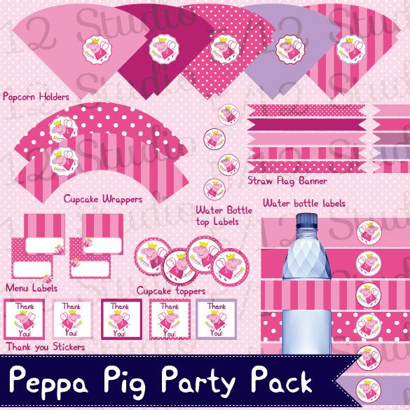 Free Printable Fairy Party Decorations Water Labels