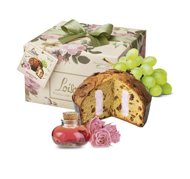 In un'ottica di continua #innovazione, ecco la new entry in casa #Loison: il #Panettone alla #Rosa! #pastry #dolci
