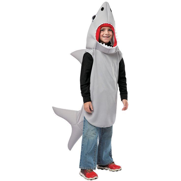 Sand Shark Costume for Kids - OrientalTrading.com