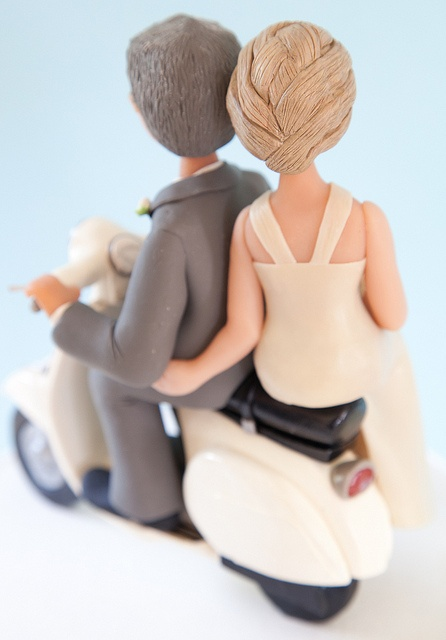 Back - Vespa by Rouvelee's Creations, via Flickr