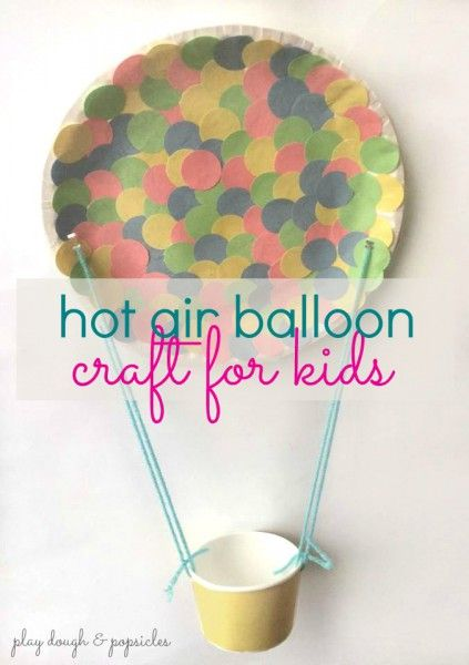 Hot Air Balloon Craft For Kids Inspired By The Stories I'll Tell #multiculturalbooks