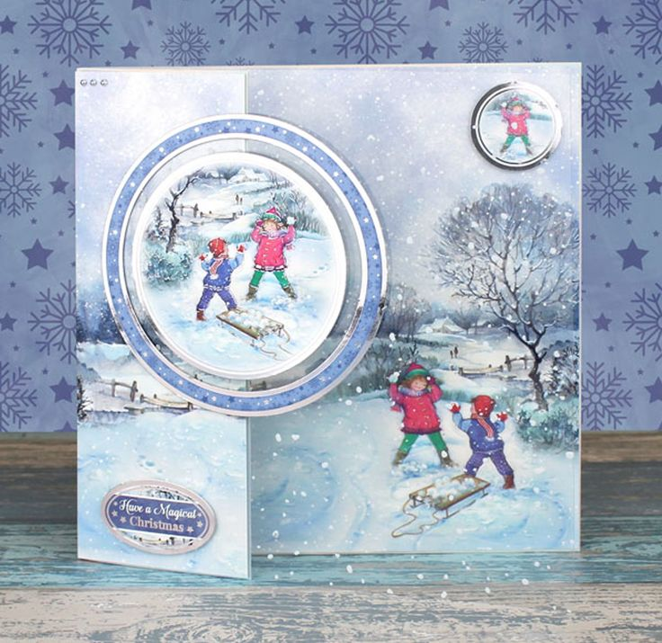 Snowball Fight Card | Create and Craft