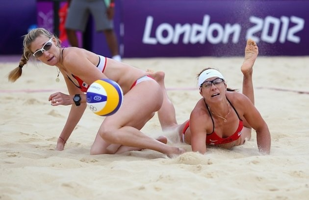 Misty May-Treanor and Kerri Walsh Jennings / USA Gold medal: going to meet Britain's Prince Harry! (Getty Images)