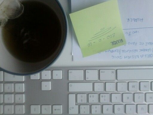 Green tea planning my new site