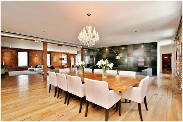 Idées de conception des grandes salle à manger ! ~ Décor de Maison / Décoration Chambre