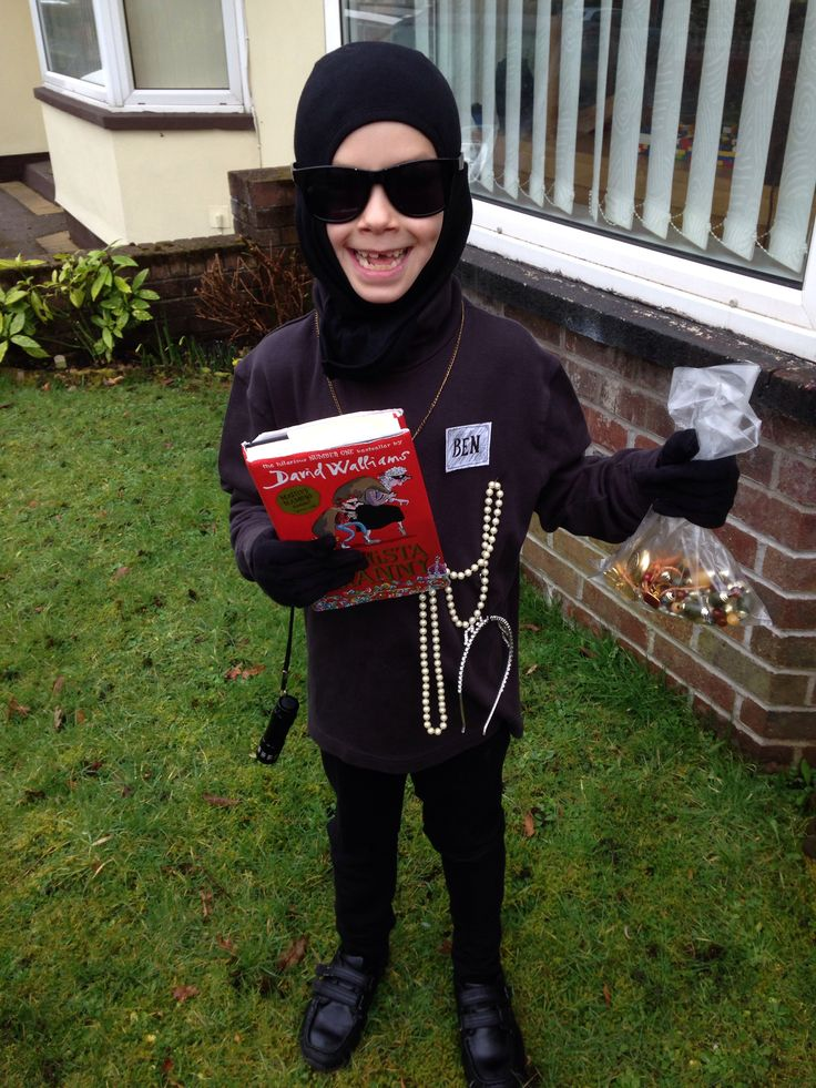 Ben from Gangsta Granny costume for World Book Day 2014