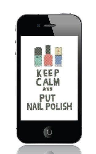 PDF Cross Stitch Pattern 'Keep calm and put от mrsMorphineStitch