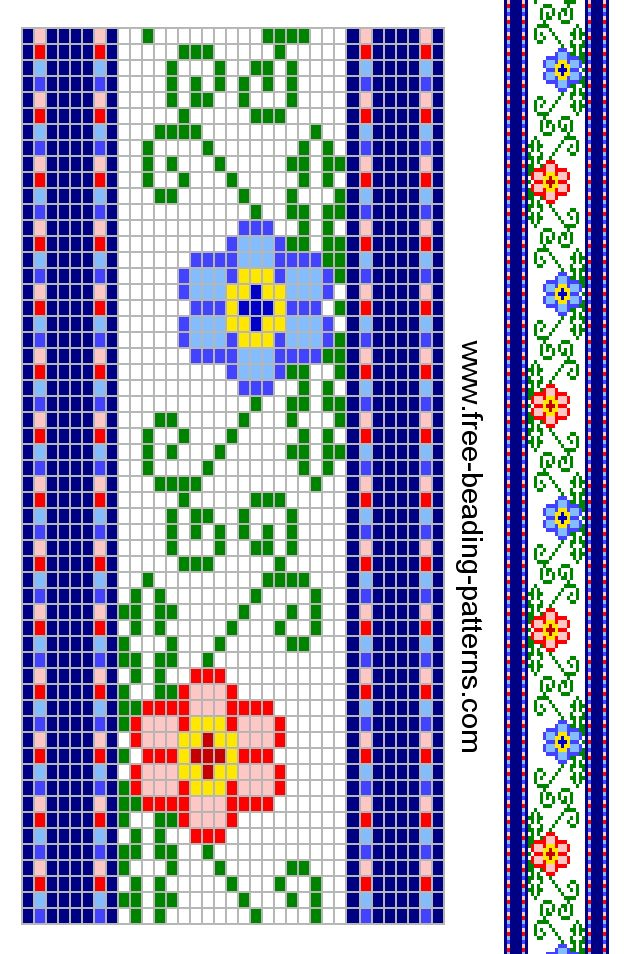 319 Best Peyote Stitch Images On Pinterest Bead Weaving