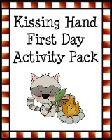 Kissing Hand First Day of School - free!  love the vocabulary words and definitions