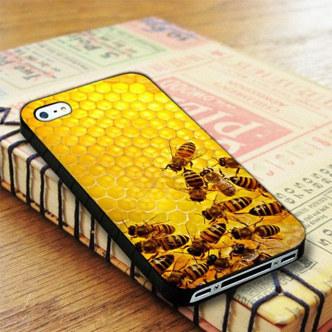 Honeycomb Bee iPhone 4|iPhone 4S Case
