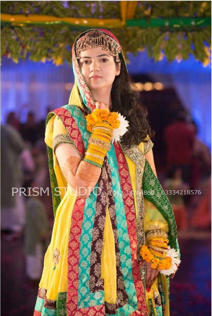 Mehndi dress Pakistan