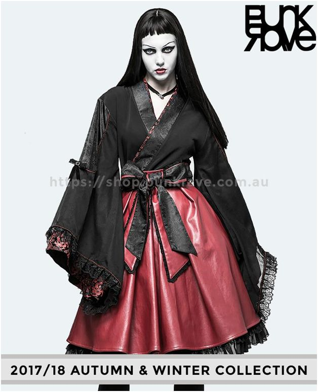 If you are looking for something totally different and unique, our 2017/18 Black & Red Kimono is perfect for you! Browse https://shop.punkrave.com.au for more inspiration.