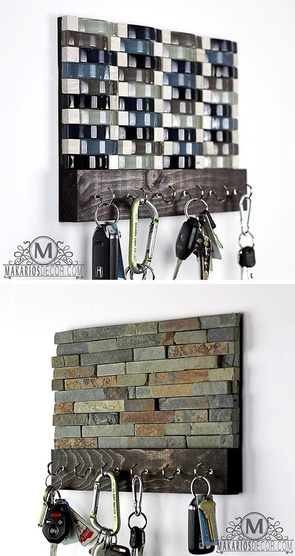 Key Hooks Housewarming Gift Key Rack Key Hanger Key Holder Etsy Wall Key Holder Key Holder Diy Key Hanger