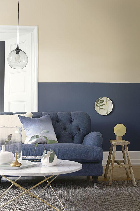 8 besten blaue Wand Bilder auf Pinterest Aktuelle news, Baby - wohnzimmer grau beige grun