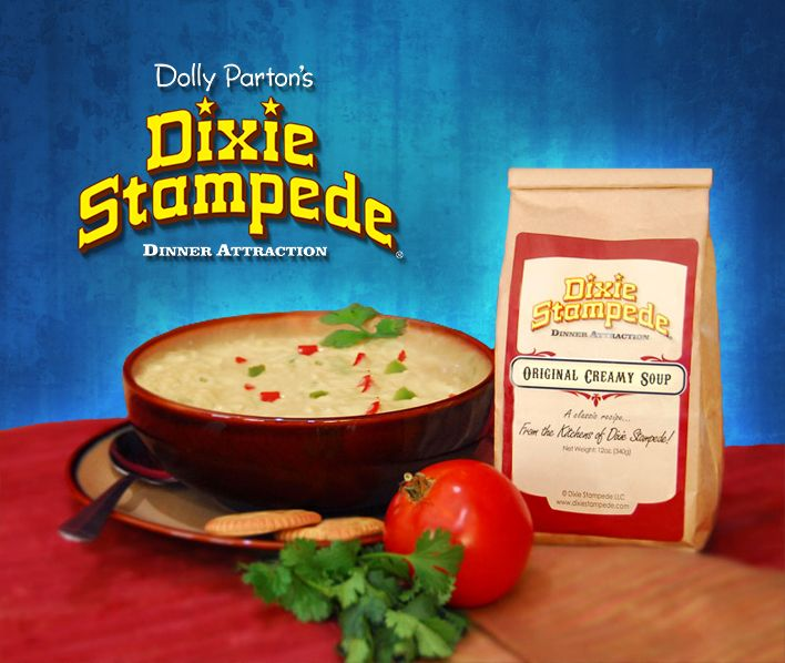 Dixie Stampede S Original Creamy Soup Kiss The Cook