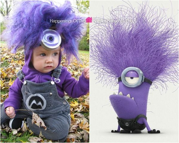 purple minion costume for kids - Google Search