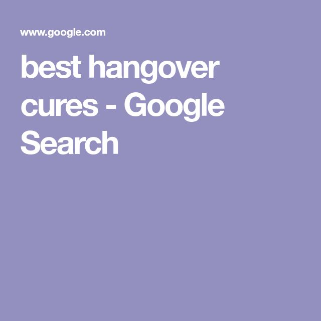 best hangover cures - Google Search
