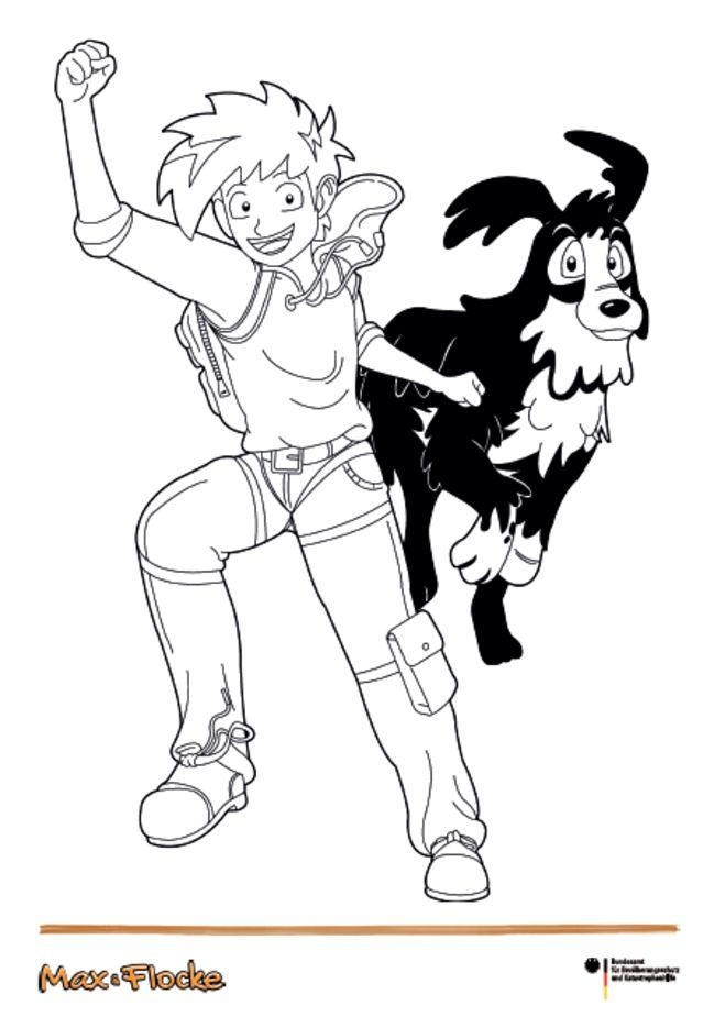 Max und Flocke auf der Jagd nach Dr. Superschreck