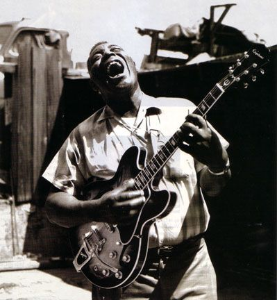 Howlin' Wolf--Chester Arthur Burnett (6.10. 1910 –1.10. 1976) was an influential American blues singer, guitarist and harmonica player.