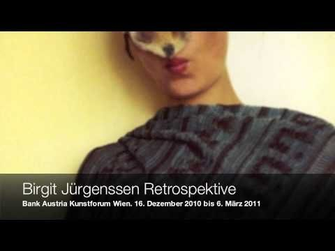 Birgit Jürgenssen Retrospektive @Bank Austria Kunstforum_audiopodcast - YouTube