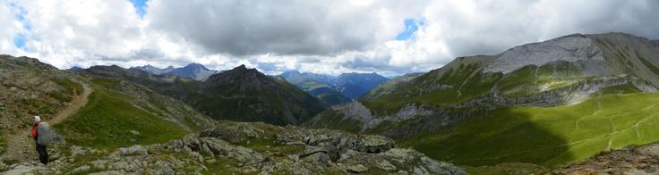 La Haute Savoie avec Nico en 2011. Col du Petit Bonhomme (Tour du Mont Blanc)