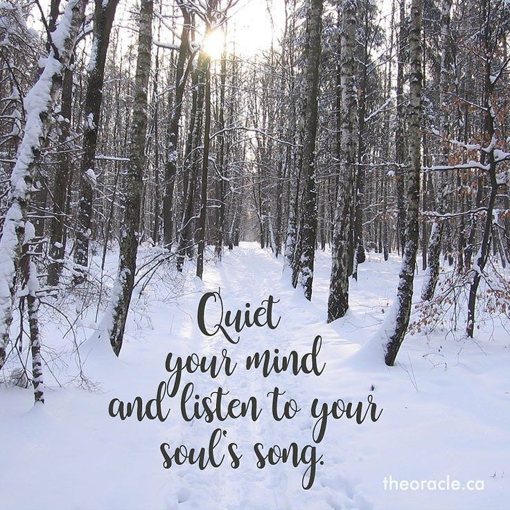 Listen to your Soul's song