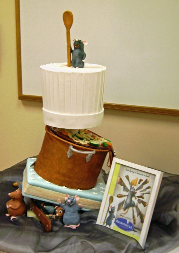 48 Best Images About Disney S Ratatouille Cakes On Pinterest