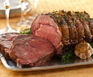 Chef Elizabeth Karmel's Holiday Prime Rib with Decadent Horseradish Cream Recipe by Lauren Gordon - The Daily Meal