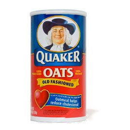 Rolled Oats for Breakfast/Baking: Quaker Old-Fashioned Rolled Oats