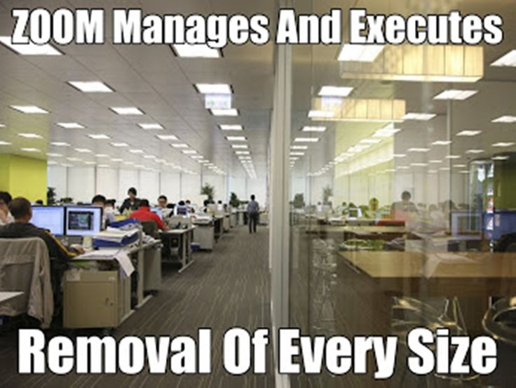 ****Office Moves that Work for You.**** ZOOM is among the best office removalists Sydney-wide. Our specialized office removal services include dis-assembly and reassembly of workstations, boardroom tables, conference tables & chairs, and shelving tables. We provide plastic crates for safe and secure move through distances. Computer systems are handled and transferred meticulously, with systematic labeling of cables for easy reconnection at the new location http://bit.ly/1MjFYGr