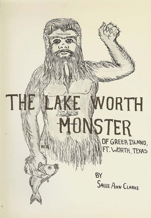 'The Lake Worth Monster' cover illustration