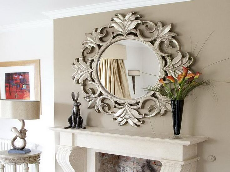 The Appeal.ing Digital Imagery Is Part Of Home Decor Wall Mirror Antique  Which Is. Living Room ...