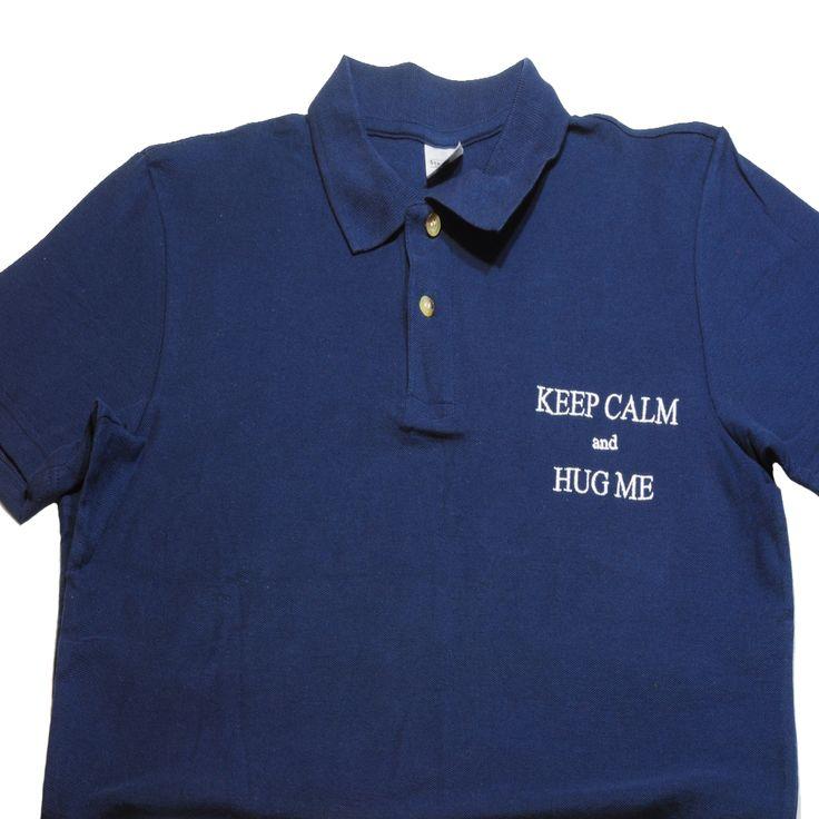Tricou Polo pentru barbati. Tricoul Polo din poza a fost personalizat prin broderie text. Personalizeaza si tu un tricou pentru barbati aici: https://www.cadouripersonale.ro/Tricou-barbati-Polo-navy-personalizat-p-17123-c-381-p.html