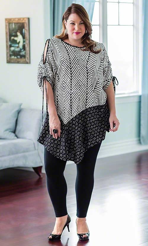 Clearance Tops - PAIGE COLD SHOULDER TUNIC