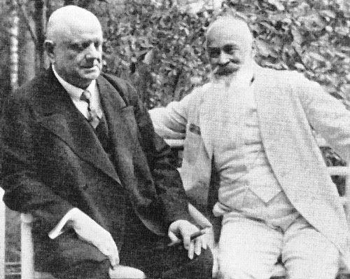 Jean Sibelius ja Sigurd Wettenhovi-Aspa