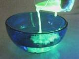 How to make GLOW WATER...great for crafts, volcanos and bath water!!!