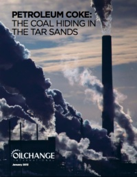 Oil Change International: The Coal Hiding in the Tar Sands.  A byproduct of bitumen upgrading: petroleum coke