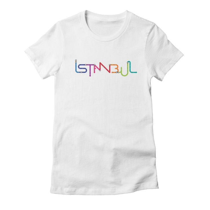 istanbul womens t-shirt in white