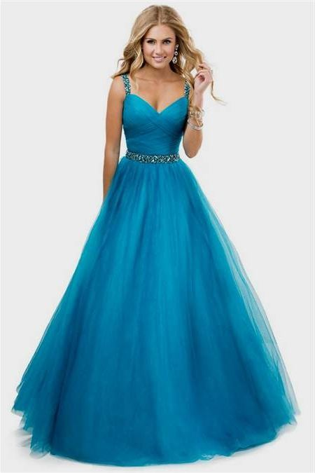 Awesome Ball Gown Prom Dresses With Straps 2018-2019 Check more at http://myclothestrend.com/dresses-review/ball-gown-prom-dresses-with-straps-2018-2019/