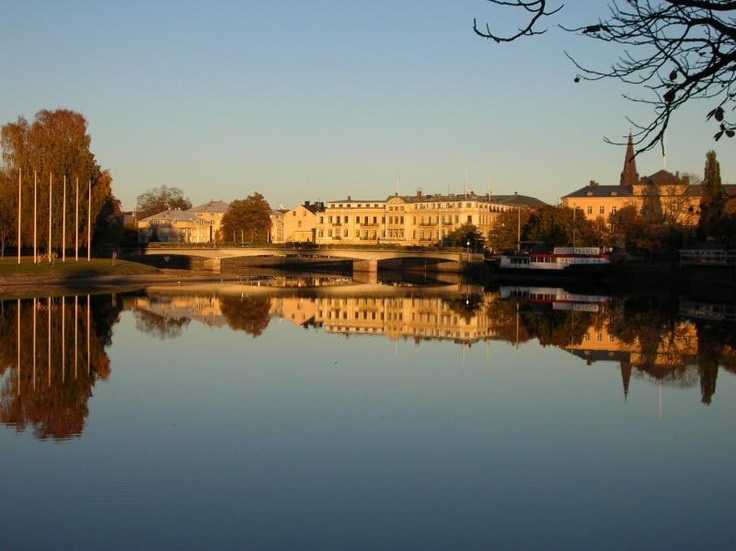 Karlstad, Sweden  as a foreign exchange student in high school