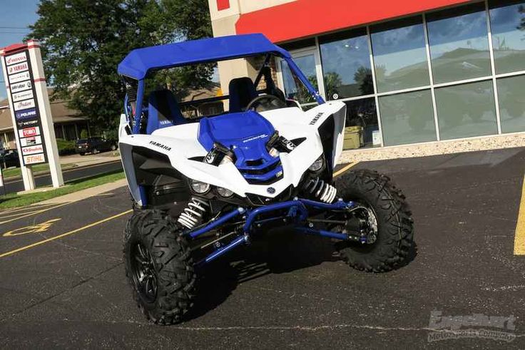 New 2017 Yamaha YXZ1000R SS Team Yamaha Blue ATVs For Sale in Wisconsin. 2017 Yamaha YXZ1000R SS Team Yamaha Blue, Sequential shift powerhouse! 2017 Yamaha YXZ1000R SS Team Yamaha Blue GRAB A GEAR The new YXZ1000R SS puts pure sport performance at your fingertips with an all-new 5-speed sequential Sport Shift (SS) transmission with automatic clutch. Features may include: All-New Yamaha Sport Shift 5-Speed Sequential Shift Transmission Yamaha breaks new ground with Yamaha Sport Shift, a…