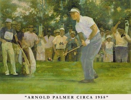 Walt Spitzmiller - Arnold Palmer in 1958